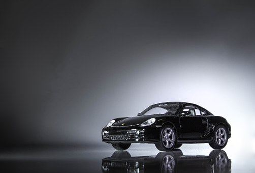 Machine, Porsche, Boxter, Closeup, Model, Light