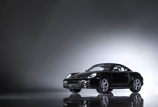 Machine, Porsche, Boxter, Closeup, Model, Light