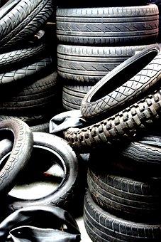 Tires, Car Tyres, Band, Wheel, Motor Band, Stack