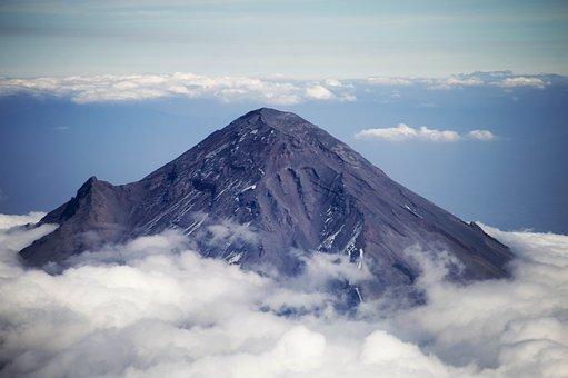 Popocatépetl, Volcano, Mexico, Peak, Mountain, National