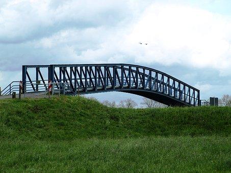 Amdorf, Narrowest Bridge In Germany, Narrow, Steel