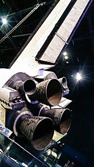 Kennedy Space Center, Florida, Nasa, Moon, Rocket