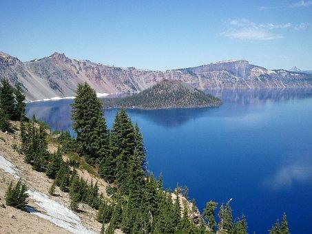 Crater, Lake, Crater Lake, Oregon, National Park