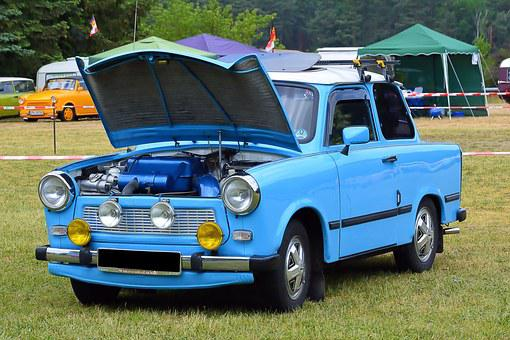 Auto, Old, Historically, Trabant 601, Eastern Mobile