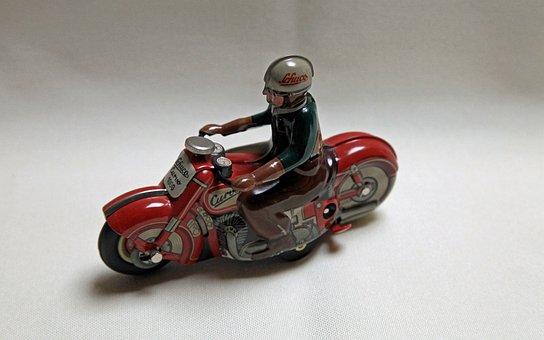 Motorcycle, Model, Children Toys, Oldtimer, Toys