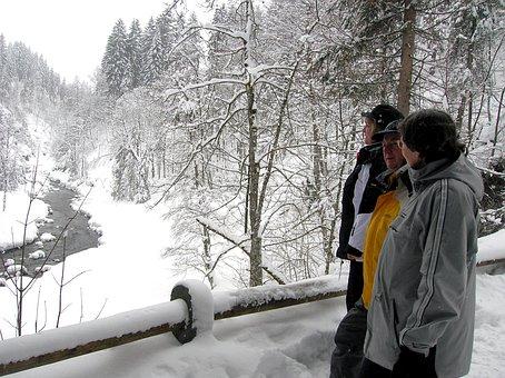 Winter, Snow, Personal, Lilli, Manfred, Franzi
