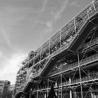 France, Paris, Pompidou Centre, Art Gallery