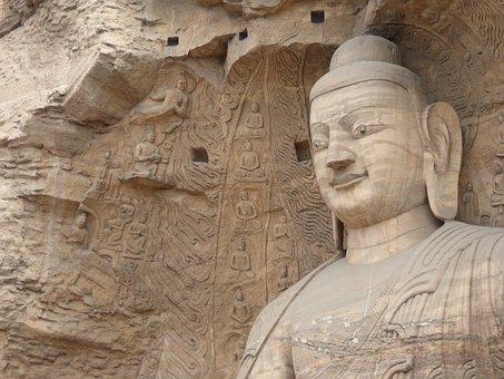 Buddhism, Yungang Grottos, Yungang Caves, China, Shanxi