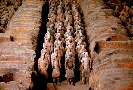Terracotta, Warrior, China, Soldier, Ancient, History