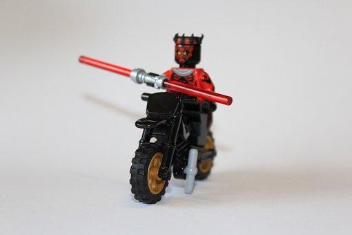 Lego, Motorcycle, Toys, Children Toys, Model, Play
