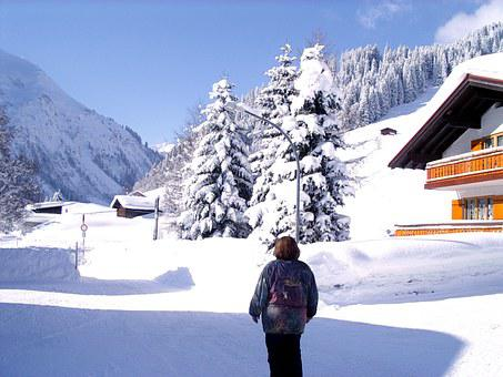 Winter, Kleinwalsertal, Riezlern, Lilli