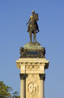 Equestrian Statue, Alfonso 12, Alfonso Xii, Removal