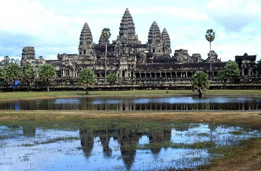 Angkor Wat Temple, Twelfth Century, Cambodia, Asia