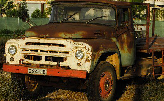 Truck, Old, Vehicle, Rusty, Antique, Rusted, Rustic