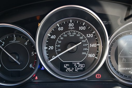 Car, Dial, Speed, Indicator, Vehicle, Auto, Automobile
