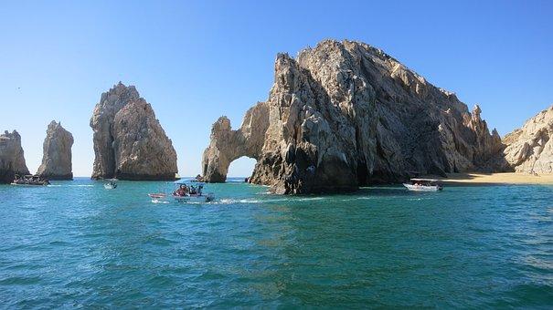 El Archo, Cabo, Baja, Arch, Famous, Mexico, Ocean