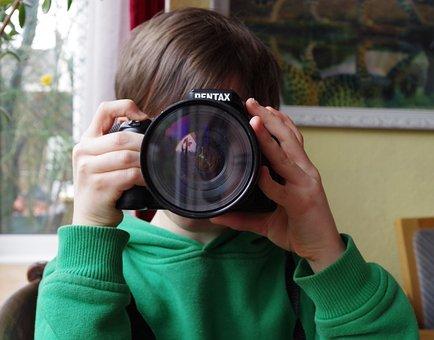 Photography, Boy, Camera, Photo, Portrait, Child, Male