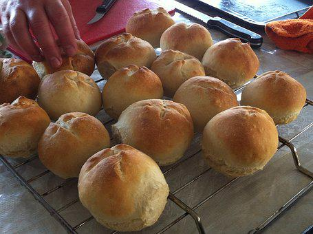 Buns, Food, Bread, Delicious, Eat, Snack, Tasty, Pastry