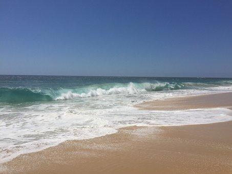 Cabo San Lucas, Beach, Waves, Mexico, Travel, Ocean