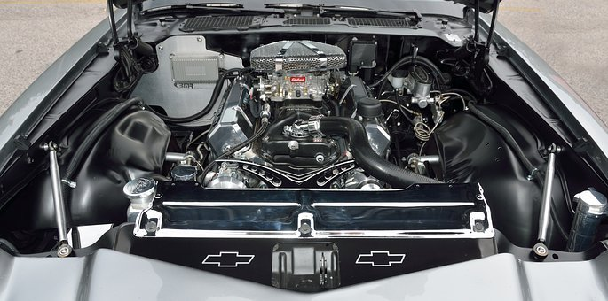 Car Engine, Motor, Engine, Vehicle, Auto, Automobile