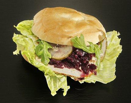 Sandwich, Christmas Sandwich, Pork Loin, Pork Roast