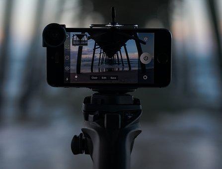 Monopod, Tripod, Selfie Stick, Compose, Photograph