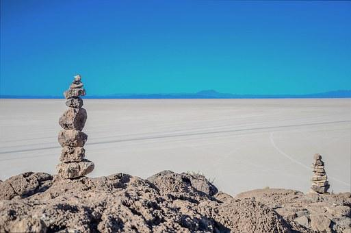 Desert, Salar, Uyuni, Bolivia, Trip, Backpacker