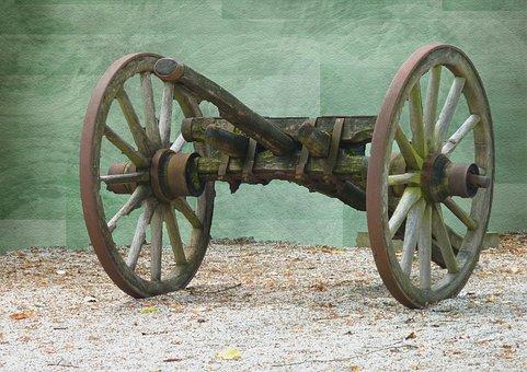Wood Car, Drawbar Dare, Hay Wagon, Agricultural Unit
