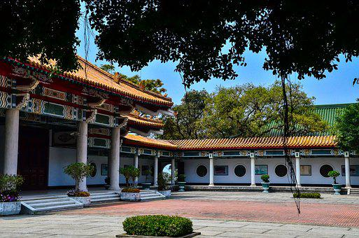 Kaohsiung, Drum Hill Area, The Martyrs ' Shrine