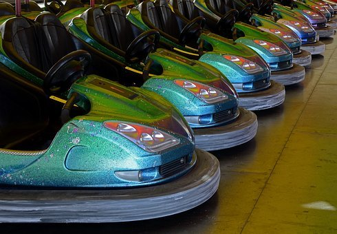 Bumper Cars, Electric Cars, Small Electric Cars, Push
