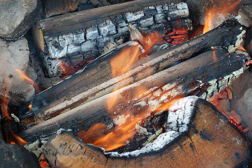 Fire, Firewood, Heat, Wood, Flame, Burn, Light, Warm