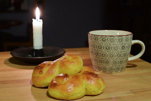 Saffron Bun, Lucia, Lussekatter, Freshly Baked