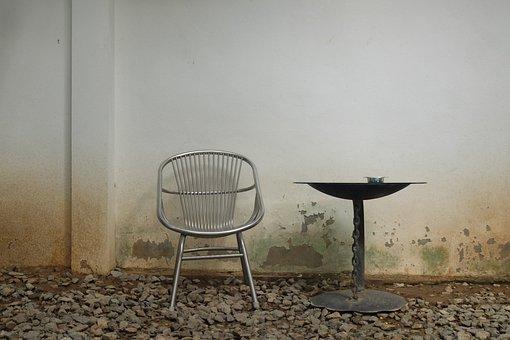 Table, Chair, Coffee, Interior, Design, Furniture