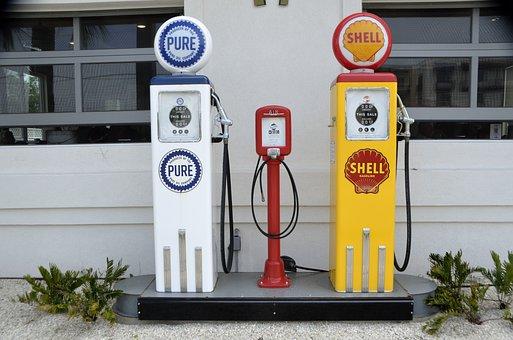 Vintage, Gas Pump, Fuel, Gasoline, Gas, Pump, Petrol