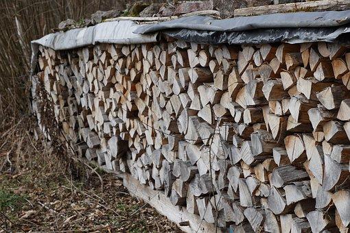 Wood, Nature, Grey, Dry Wood, Stock, Heat, Fabric