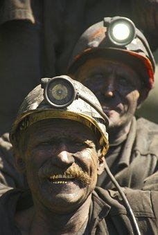 Production, Miners, Coal, Hard Labour, Fuel, Work, Mine