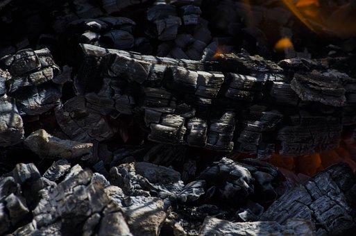 Fire, Coal, Hot, Grill, Heat, Flame, Red, Smoke