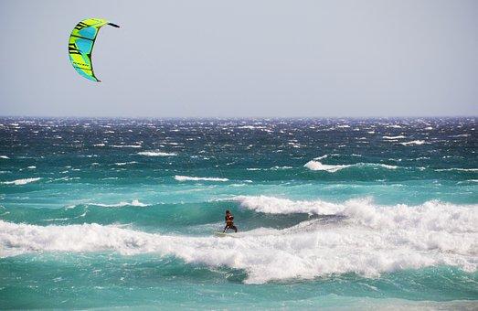 Kite Surfing, Kiting, Surf, Windsport, Kite, Dragons