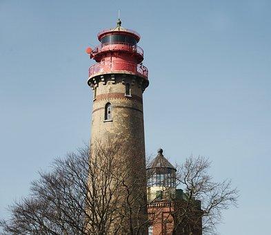 Lighthouse, Cape Arkona, Coast, Rügen Island, Tower