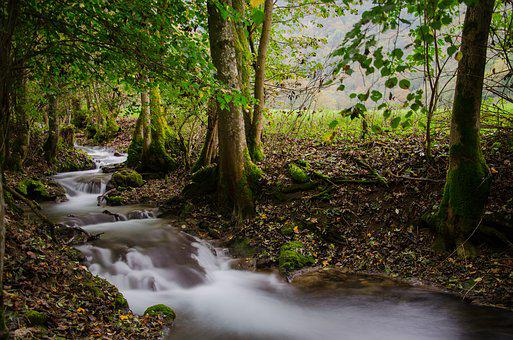 Bad Urach, Germany, River, Long Exposure, Landscape