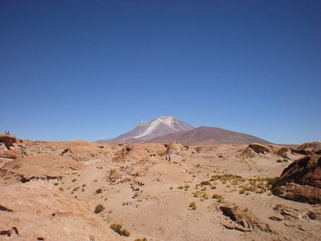 Uyuni, Mountain, Landscape, Bolivia, South America