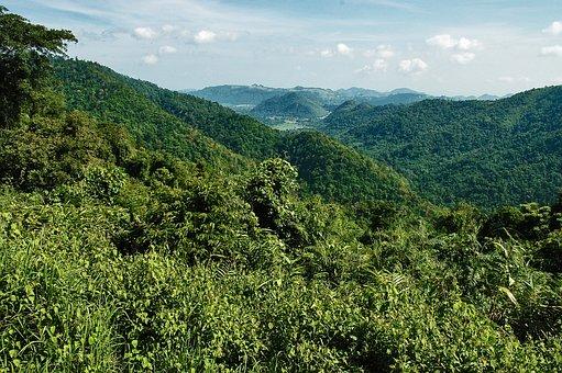 Landscape, Mountains, Khao Yai, Thailand