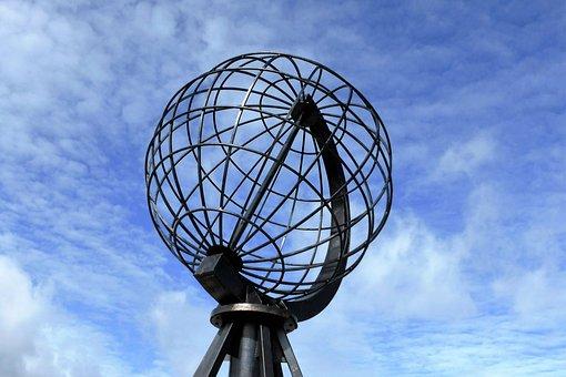 North Cape, Globe, Monument
