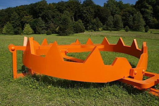 Bear Trap, Artwork, Art, Huge, Case, Orange, Bright