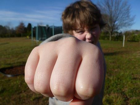 Fist Bump, Boy, Outside, Fist, Gesture, Independence