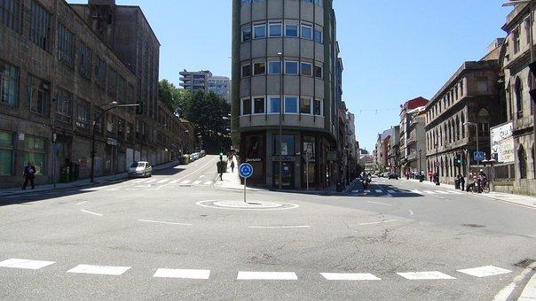 Vigo City, Paseo Alfonso, Urban Landscape, City Centre