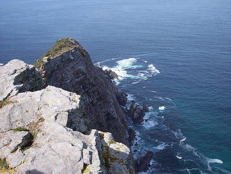 Cape, Point, Africa, South, Peninsula, Ocean, Rock, Sea