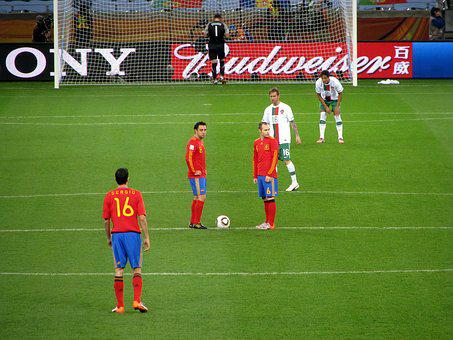 World Cup 2010, Spain, Portugal, Iniesta, Xavi