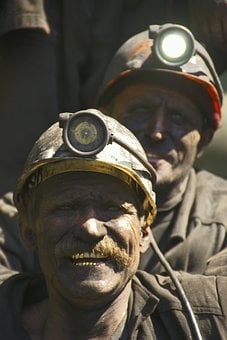 Production, Miners, Coal, Hard Labour, Fuel, Work, Mine