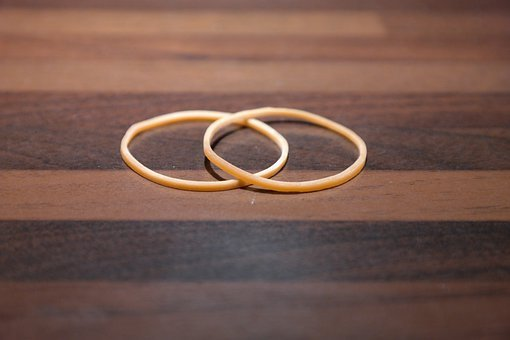 Rubber Bands, Rubber Rings, Rubber, Annular
